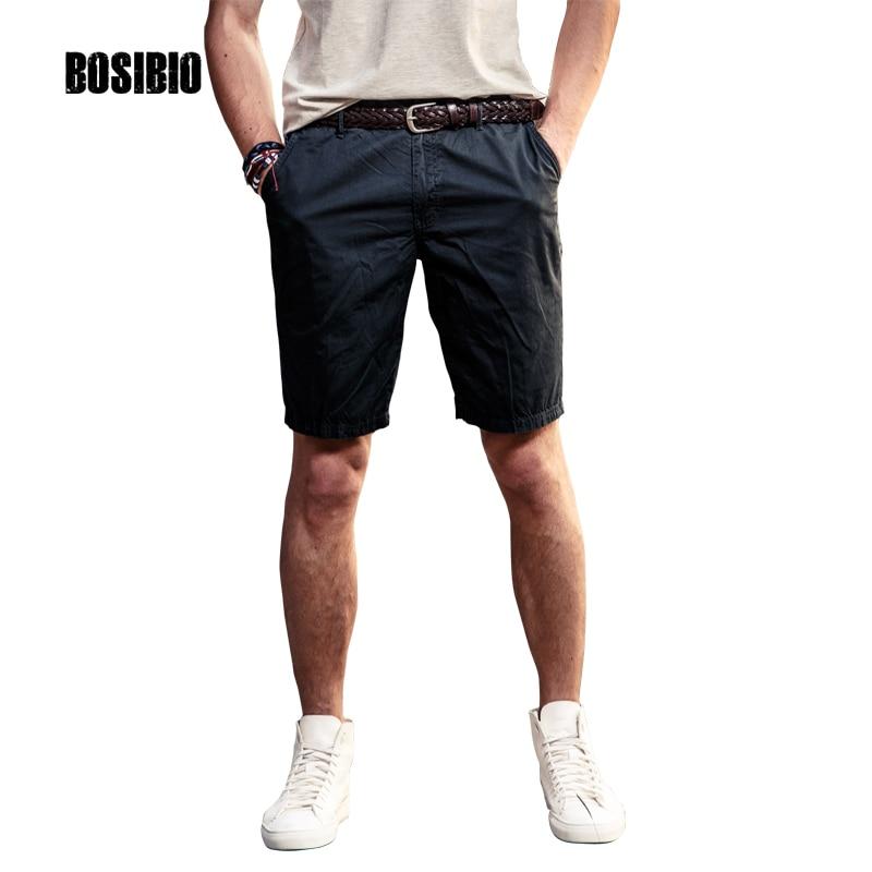 New Style MensMilitary Cargo Shorts Summer Bermudas High Quality Black Knee Length Brand Short Pants New Arrival 2017 FH3257