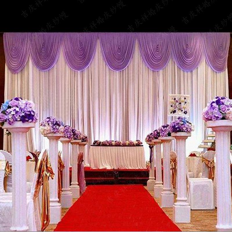 Hot Sale Wedding Backdrop Curtain High Quality Wedding