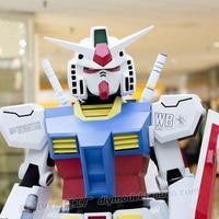 Ganso RX78 1:1 Wearable Body Armor Gundam Head Full Kit Free Cutting Super Thick EVA Resin Plate Model