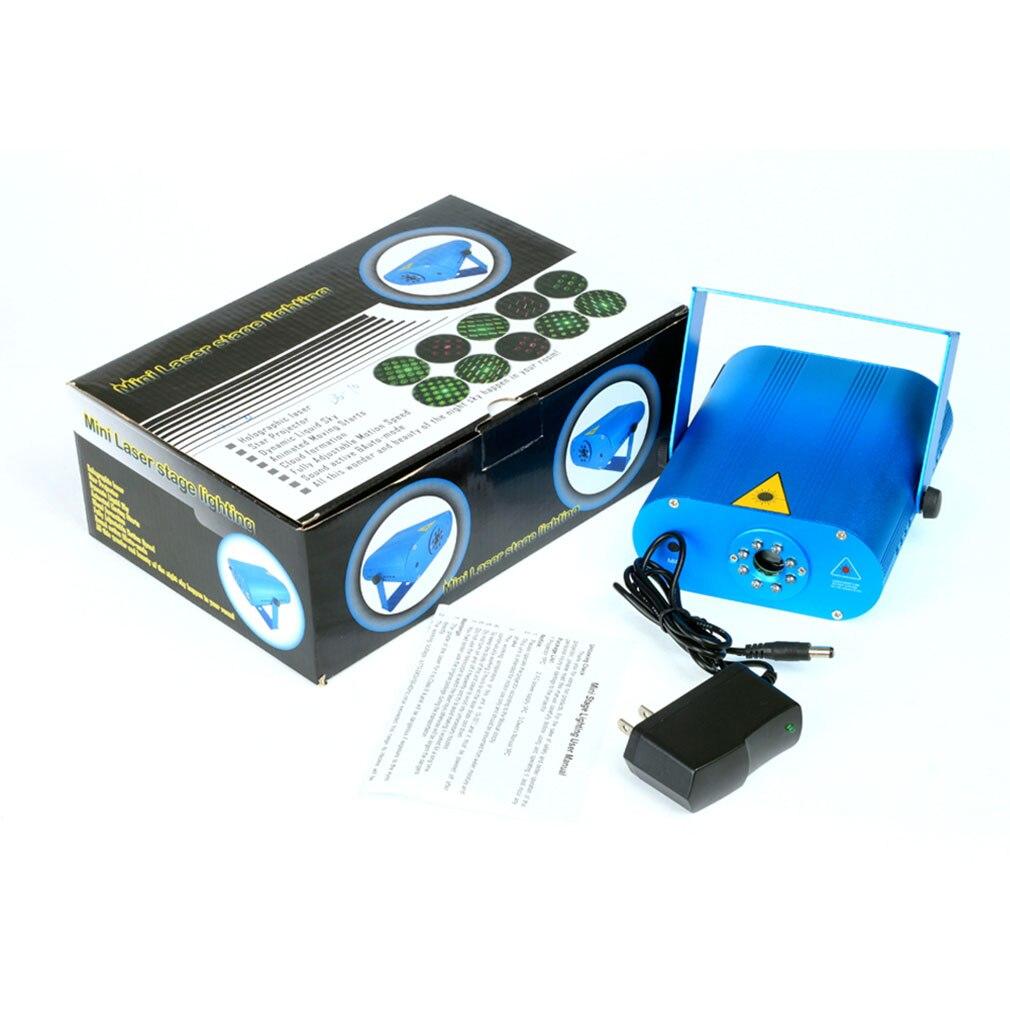 ICOCO New Mini DJ Laser Stage Lighting Light Disco Party Club Galaxy Projector