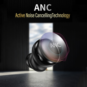 Image 3 - Bonola ANC Wireless Bluetooth Earphone Stereo Active Noise Canceling Earbuds TWS Touch Key Bluetooth 5.0 Earphones For Huawei