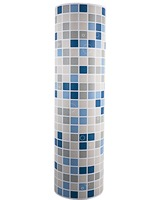 Modern Mosaic Self-adhesive Wall Paper for Bathroom Waterproof Vinyl Matte Decals Decorative PVC