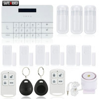 Newest Wireless Gsm Alarm System For Home House Security Burglar Intruder System Remote Control By APP