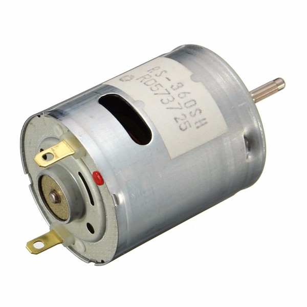 US $9 99 |2 pcs/Lot _ 6V 29000rpm 360 Small DC Motor Electric Motor for Car  Boat on Aliexpress com | Alibaba Group