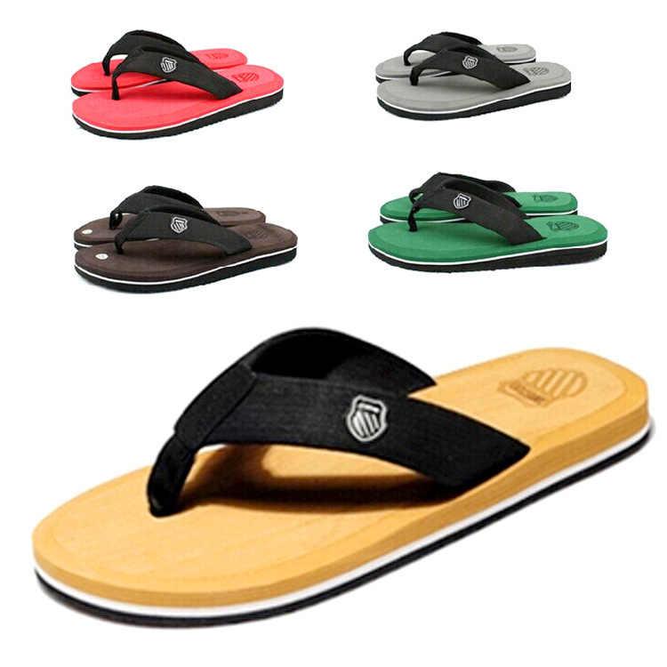 2019 г., хорошее качество, мужские летние пляжные сланцы, шлепанцы, сандалии, мужские шлепанцы
