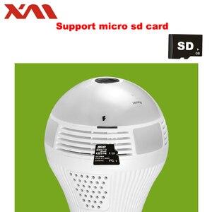 Image 4 - Mắt Cá IP Camera 360 độ Toàn Cảnh Camera HD Wifi Camera IP Trong Nhà Nhà Web An Ninh Cam bóng E27 Ban Đêm tầm nhìn