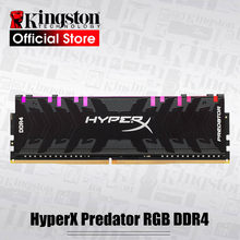 Kingston memória ram hyperx predador, memória ram rgb ddr4 8gb 16gb 3200mhz 3600mhz 4000mhz cl16 dimm xmp ddr4 rams de memória para desktop