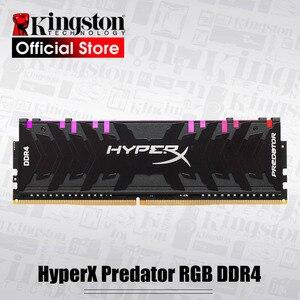 Image 1 - Kingston HyperX Predator RGB DDR4 8GB 16GB 3200MHz 3600MHz 4000MHz CL16 DIMM XMP Memoria Ram ddr4 için masaüstü bellek Rams