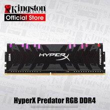 Kingston Memoria Ram DDR4 para ordenador de escritorio HyperX Predator RGB ddr4, 8GB, 16GB, 3200MHz, 3600MHz, 4000MHz, CL16 DIMM, XMP
