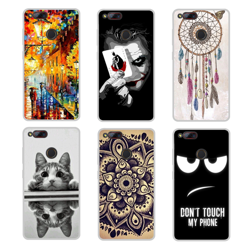 "Soft Silicone Cover For ZTE Nubia z17 mini Case 5.2"" Phone Cover Fashion Design Soft TPU Cover Case For ZTE Z17 mini Phone Cases"