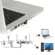 Ralink RT5370 150Mbps Wireless Adapter 150M USB 2.0 WiFi Wireless Network Networking Card 802.11 b/g/n 2.4GHz LAN Adapter