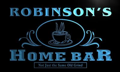 x1020-tm Robinsons Home Bar Coffee Custom Personalized Name Neon Sign Wholesale Dropshipping On/Off Switch 7 Colors DHL