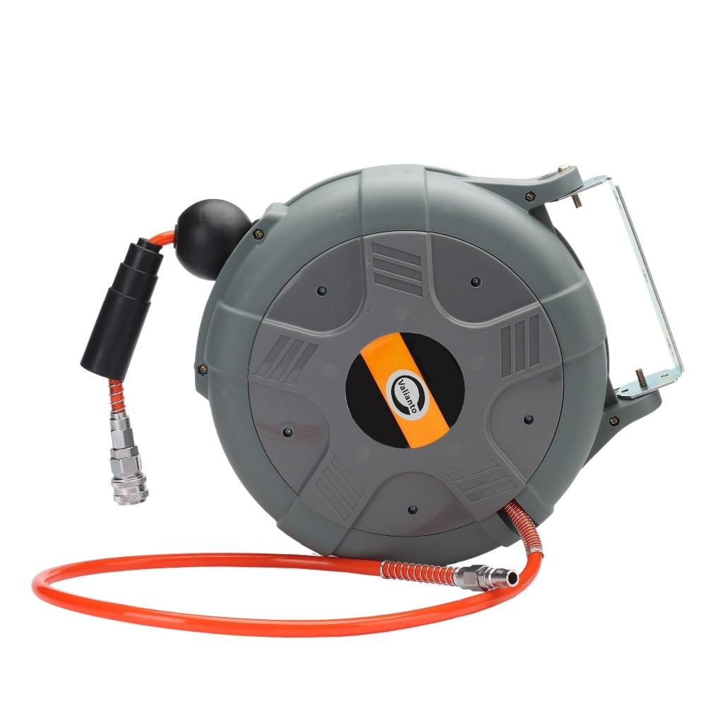 valiantoin cheap high quality ls612 power retractable air hose reel automotive air hose reel - Retractable Hose Reel