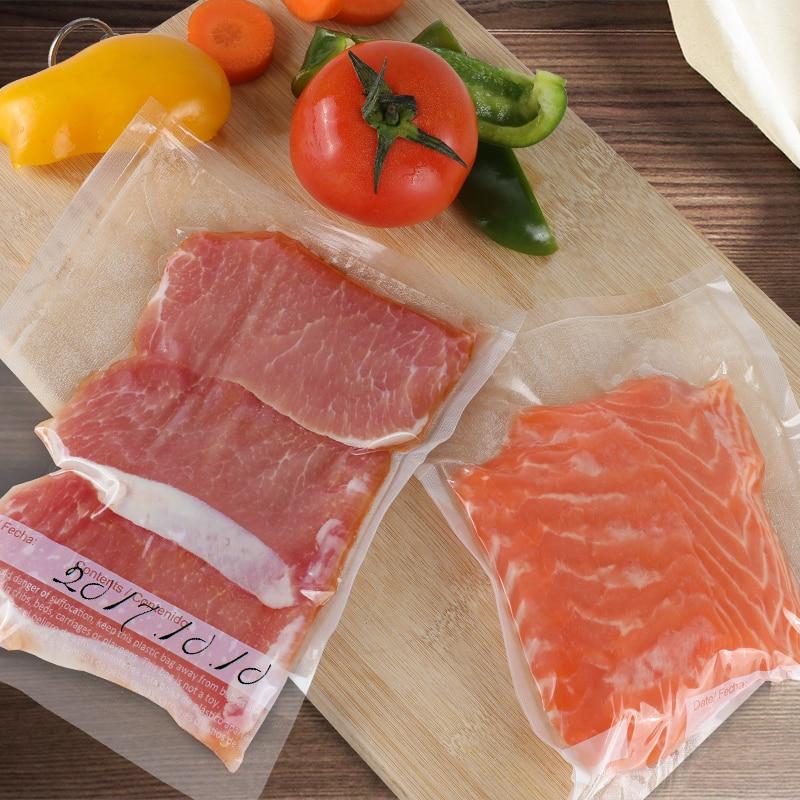 Us 19 99 50 Off Taili 5 Rolls Kitchen Food Vacuum Bag Storage Bags For Packaging Heat Seal 20 610cm 28 490cm In Saran