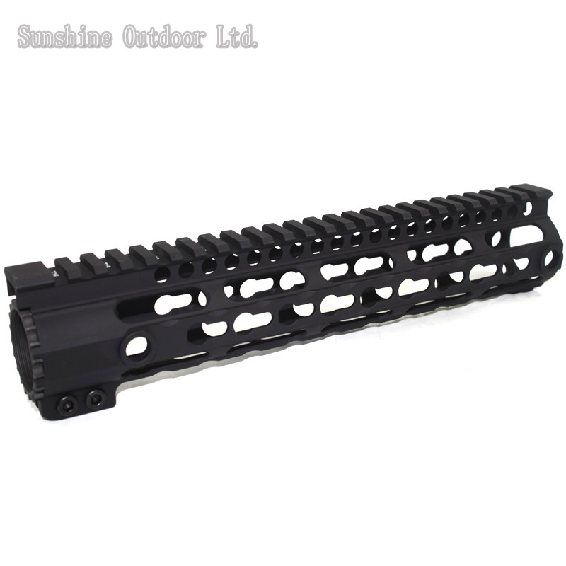 Picatinny Rail CNC Process Anodic Oxidation 10 inch Keymod system float Handguard rail for m4/m16/ar15 AEG picatinny rail ras mre 12 inch handguard rail for m4 m16 ar15 aeg hunting