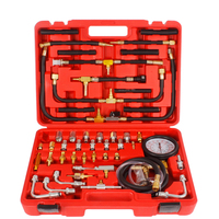 Manometer Fuel Pressure Gauge Tool Engine Testing Kit Fuel Injection Pump Tester 0 140 psi Pressure Tester Gauge Kit Group