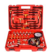 Manometer Fuel Pressure Gauge Tool Engine Testing Kit Fuel Injection Pump Tester 0 140 psi Pressure Tester Gauge Kit Group