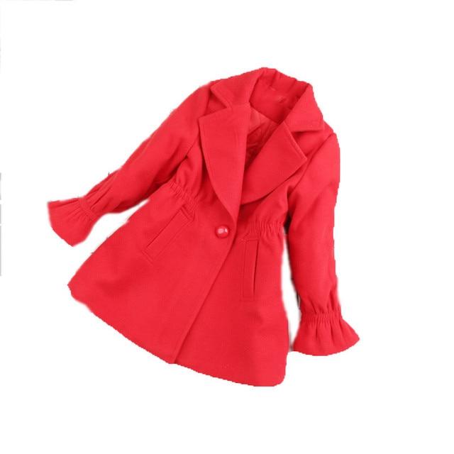 086c476b45ba Girls wool coat kids clothes girls 2018 Winter coats and jackets ...