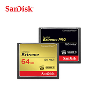 Sandisk Extreme Pro Compact Flash CF Card 128GB 64GB 32GB Memory card 32GB 160MB/s 1067X Support 4K Full HD video SLR Camare