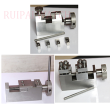 Conjunto de 3 relógio pulseira ferramentas de reparo para rlx jublee/0yster relógio banda metal desmontar e instalar ferramenta