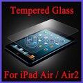 Para el iPad aire / aire 2 ultrafina a prueba de explosiones de vidrio templado para el iPad 6 / 5 pantalla