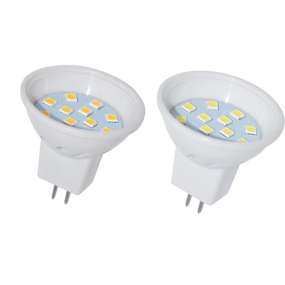 1PCS MR113 5W Led Lamp SMD 3030 12leds Bulb Light Mini Spotlight Home Decor Lighting 10V 30V in LED Bulbs Tubes from Lights Lighting