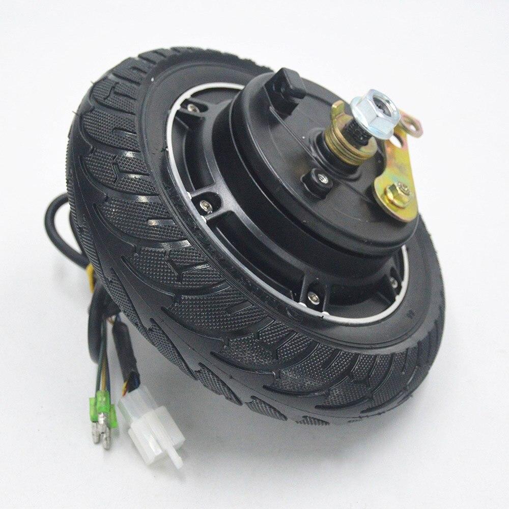 36V48V 350 W kit de scooter électrique 8 pouces roue de moteur contrôleur sans brosse accélérateur pour Scooter accessoires de fauteuil roulant électrique - 4