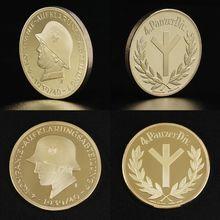 1 шт. Памятная коллекция монет солдат Первой мировой войны сувенир художественный металлический Antiqu