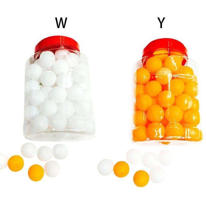 60 шт./компл. мячи для настольного тенниса 40 мм ПВХ профессиональные тренировочные мячи для пинг-понга ракетка спортивные аксессуары