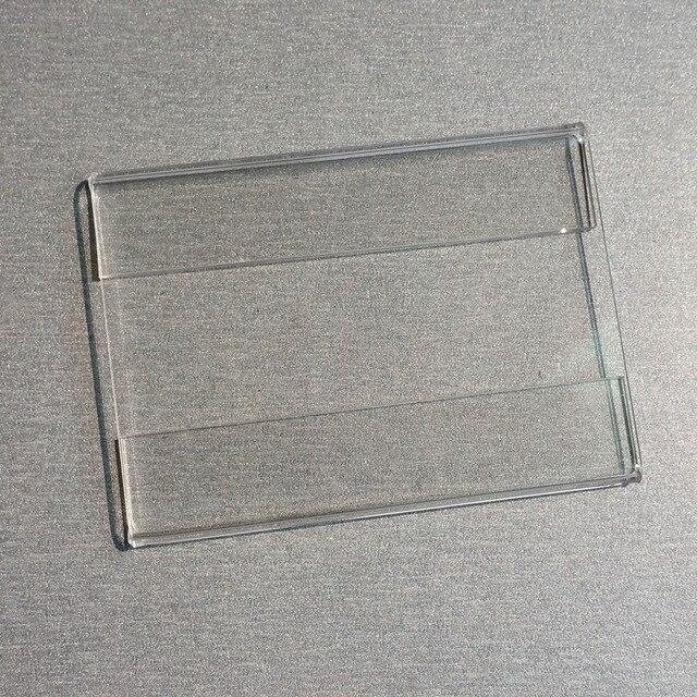 c03b3d2f1b5 10x6 cm Acrílico T1.2mm Promoção Price Tag Papel de Etiqueta do Sinal de  Plástico
