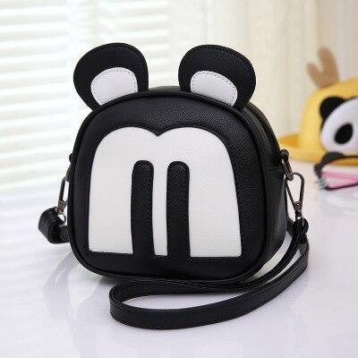 ZHIERNA Children School Bag PU Handbag Cartoon Bunny Child Anti Lost Package For Girls Boy Baby Kid Quality Backpack Lovely