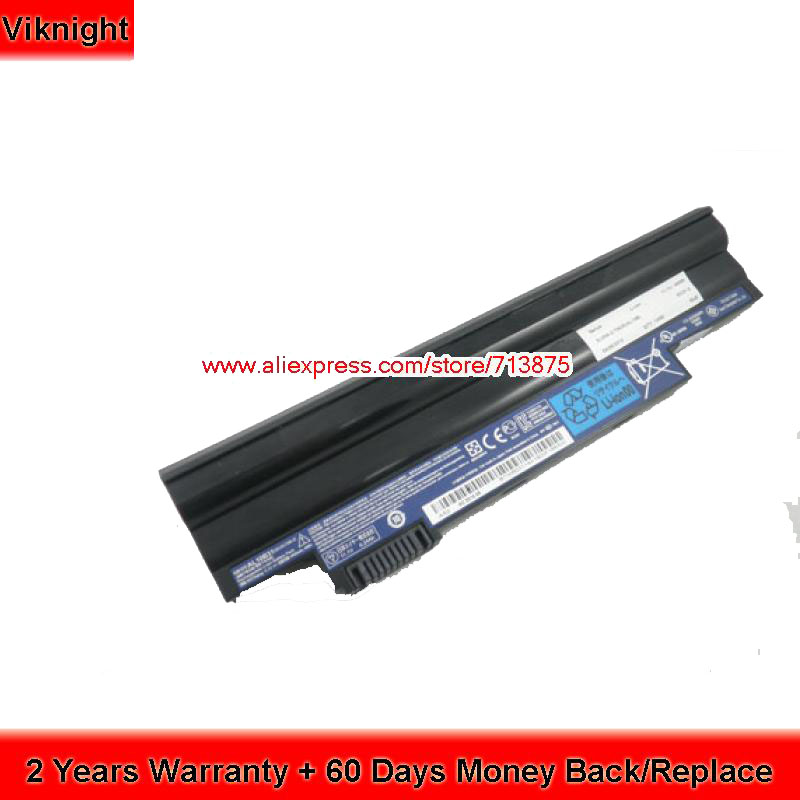 Genuine 11.1V 6 Cells AL10B31 AL10A31 Laptop Battery For Acer Aspire One D260 D255 недорго, оригинальная цена