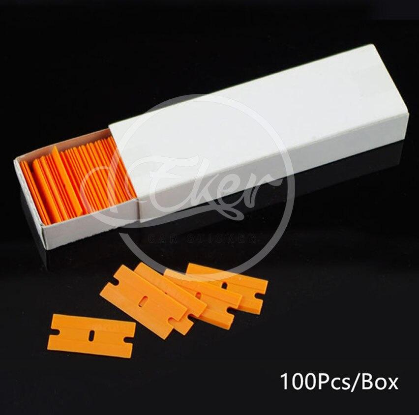 пластиковый скребок лезвия