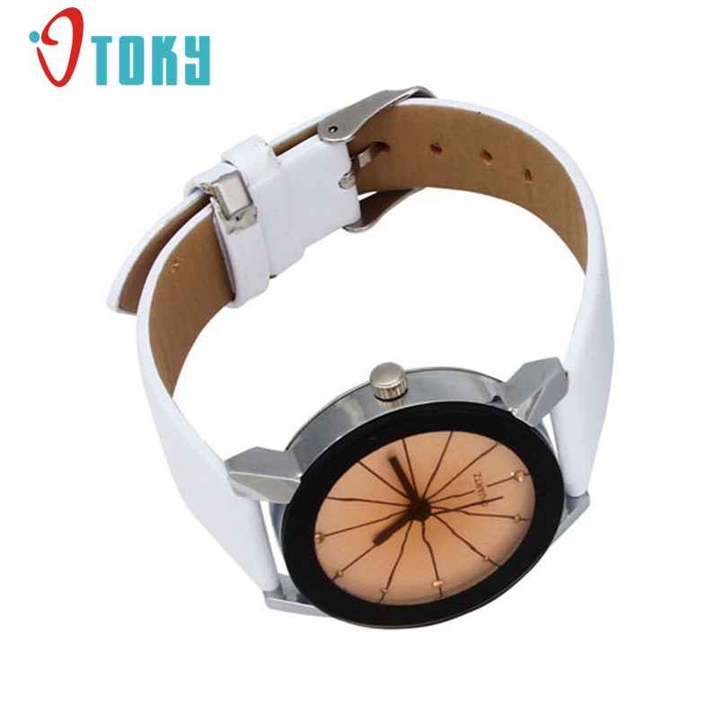 OTOKY Watch 2017 Relogio Feminino watch Men Women Top Brand Luxury Watches PU Leather Military Time Clock 1Pc Dropship