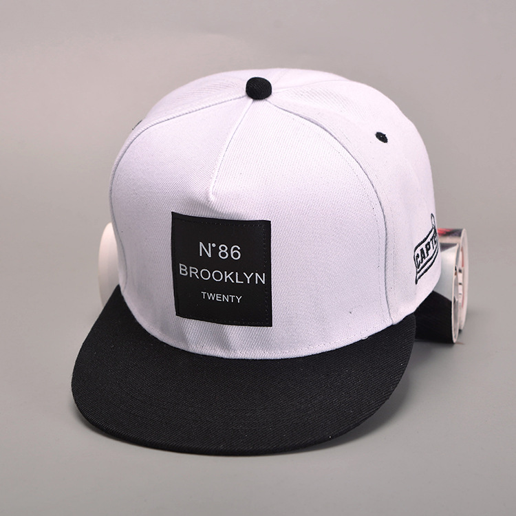 2018 New Men Womens BROOKLYN Letters Solid Color Patch Baseball Cap Hip Hop  Caps Leather Sun Hat Snapback Hats free shopping-in Baseball Caps from  Apparel ... 06d50dc50f30