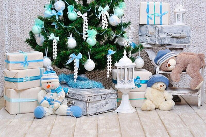 Fantasic christmas tree toys photography background,fundo fotografia,Vinyl newborn photo studio backdrop christmas стоимость