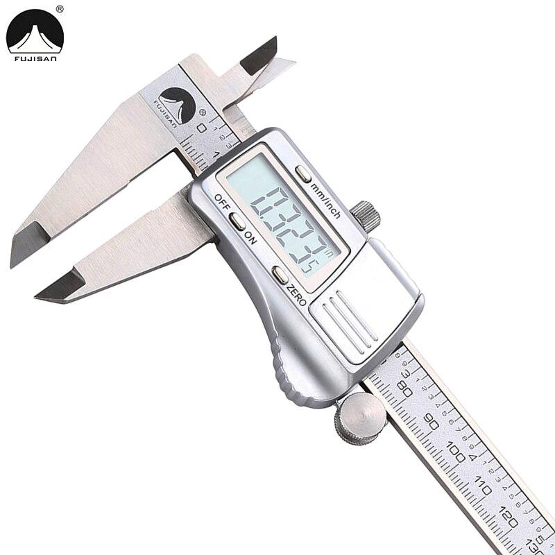 Digital Caliper Measurement : Fujisan digital caliper mm stainless steel