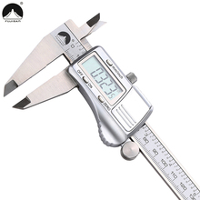 FUJISAN Digital Caliper 0-200mm/0.01mm Stainless Steel Metric/Inch Electronic Vernier Calipers Micrometer Gauge Measuring Tools