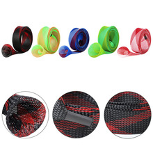 30mm DIY Casting Fishing Rod Braided Sleeve Pole Glove Cover Protector Durable