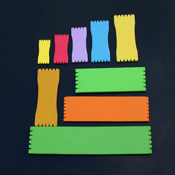Línea de pesca bobinado placa línea de espuma carpas señuelo de pesca traza cable líder herramienta giratoria Color al azar