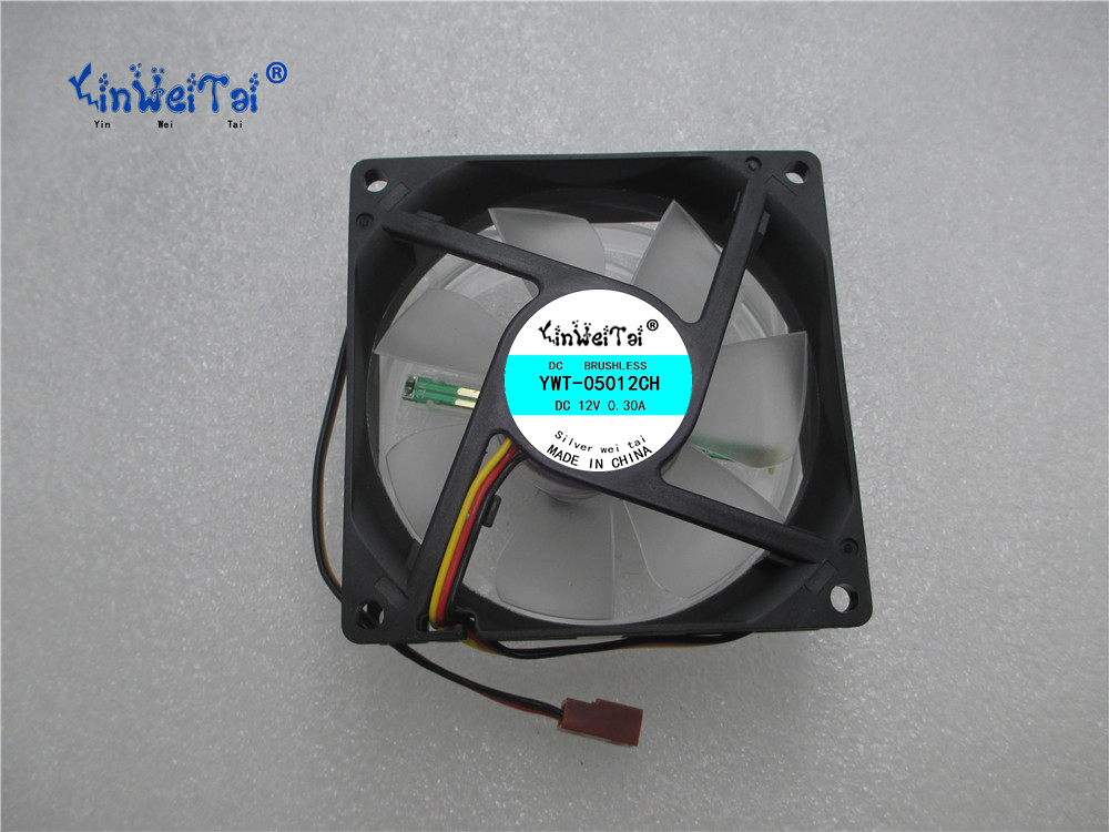 CPU Laptop Cooling Fan FOR SP802512H-03:AXIAL FAN, 80MM, 12VDC, 300mA Speed control light CPU cooling fan delta 12038 12v cooling fan afb1212ehe afb1212he afb1212hhe afb1212le afb1212she afb1212vhe afb1212me