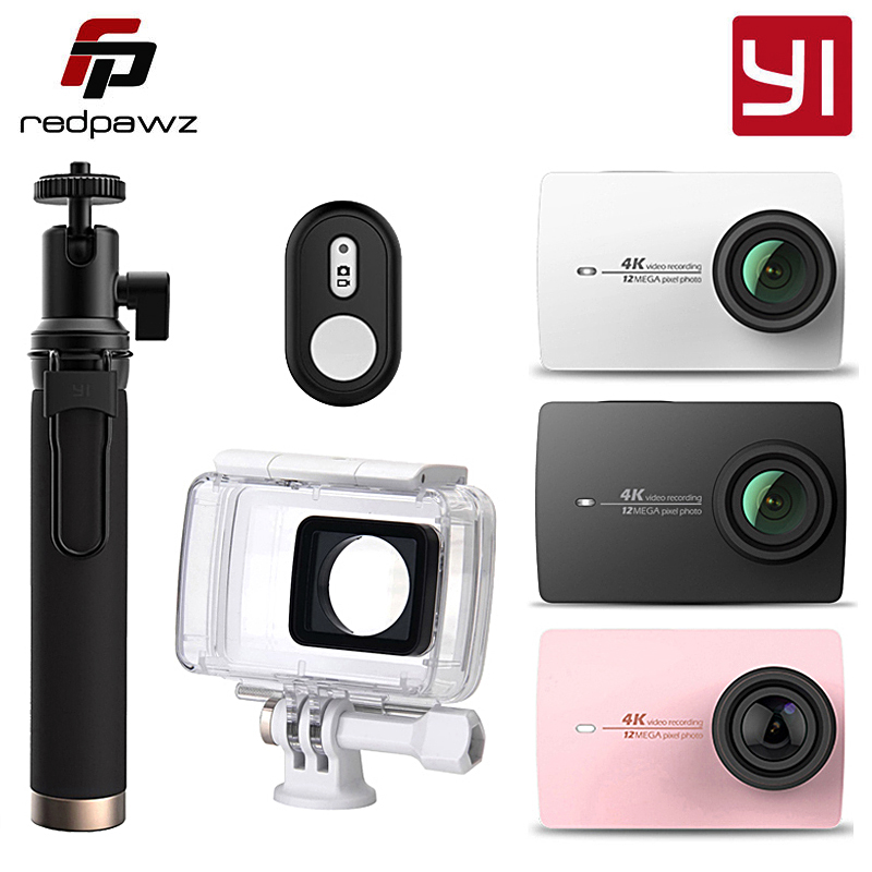 D'origine Internationale Xiaoyi YI 4 K Camera Action 2 Ambarella A9SE 2.19 155 Degrés 12MP Caméra De Sport EIS PMA
