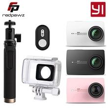 "Orijinal Uluslararası Xiaoyi YI 4 K Eylem Kamera 2 Ambarella A9SE 2.19 ""155 Derece 12MP Spor Kamera ÇBS LDC"