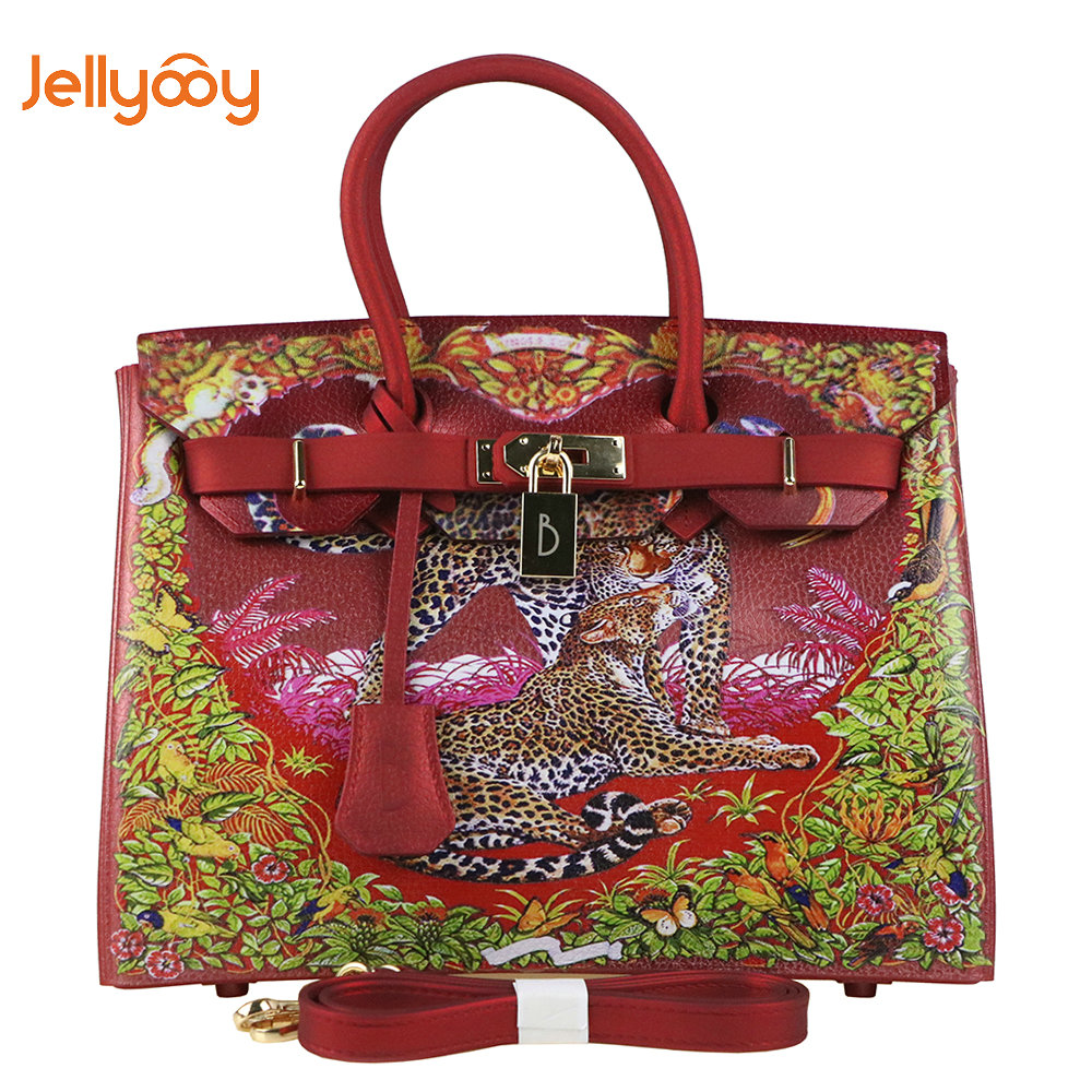 31a6691cf598 Jellyooy Beachkins Для женщин замка лоскут роскоши Сумки матовая желе сумки  личи зерна 3D принт сумки