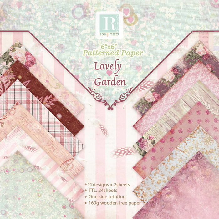 8 Styles DIY Photo Album Garden Seriers Decorative Scrapbooking <font><b>Papers</b></font> Crafts Art Card 6