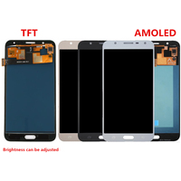For Samsung Galaxy J7 Neo J701 J701F J701M LCD Screen and Digitizer Assembly Replacement!(Black/Gold/White/Silver)