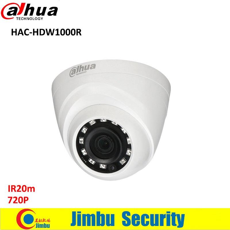 все цены на DAHUA HDCVI 720P DOME Camera HAC-HDW1000R 1/2.9 1MP CMOS IR 20M indoor cctv security camera