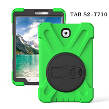 For Samsung Galaxy Tab S2 8.0 T710 T715 T713 T719 Case Cover Heavy Duty Shockproof Hybrid Kids Shockproof Silicone Hard Cover цена и фото