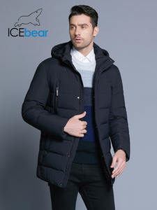 ICEbear 2018 winter jacket hat warm mens coat