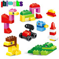 IBLOCKS 72pcs Big Classic Loose Creative DIY Building Blocks Compatible With DUPLO Large Plastic Brick Educational Toys For Kids